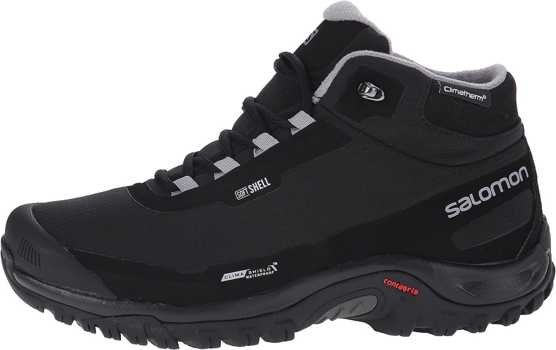Chaussures de marche Salomon 3 CS WP Softshell noir femme