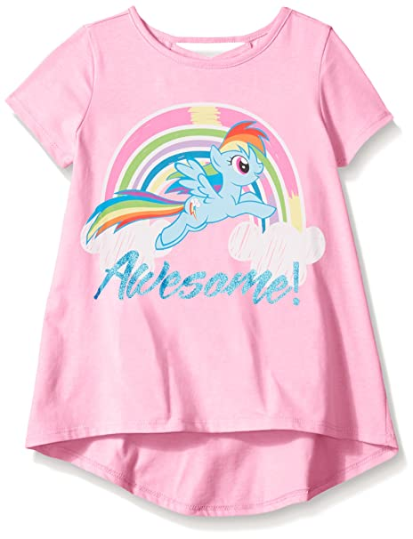 amazon com my little pony girls short sleeve t shirt fashion top