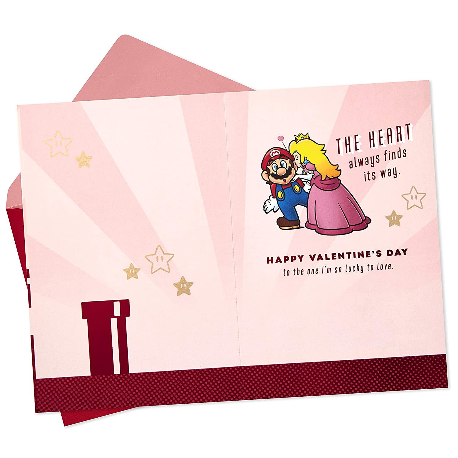 Hallmark Nintendo Super Mario Valentine's Day Card for Significant Other