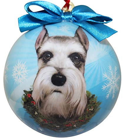 Schnauzer Christmas Ornament Shatter Proof Ball Easy To Personalize A  Perfect Gift For Schnauzer Lovers - Amazon.com: Schnauzer Christmas Ornament Shatter Proof Ball Easy To