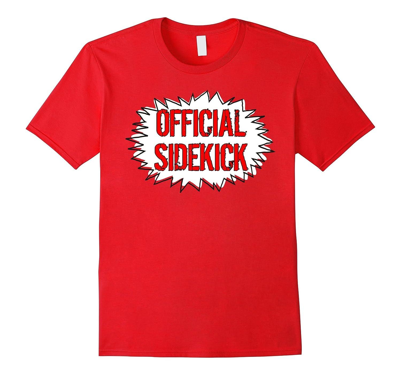 Official Sidekick Comic Super Hero Graphic T-shirt-FL