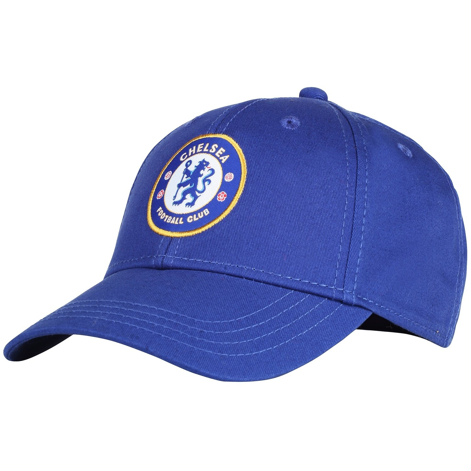 0f0b7c1d08018 Amazon.com  Official Soccer Merchandise Adult Chelsea FC Core Baseball Cap  (One Size) (Royal Blue)  Clothing