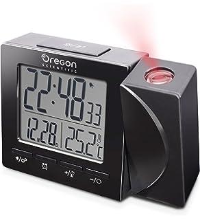 Amazon Com Oregon Scientific Proji Projection Atomic Clock With