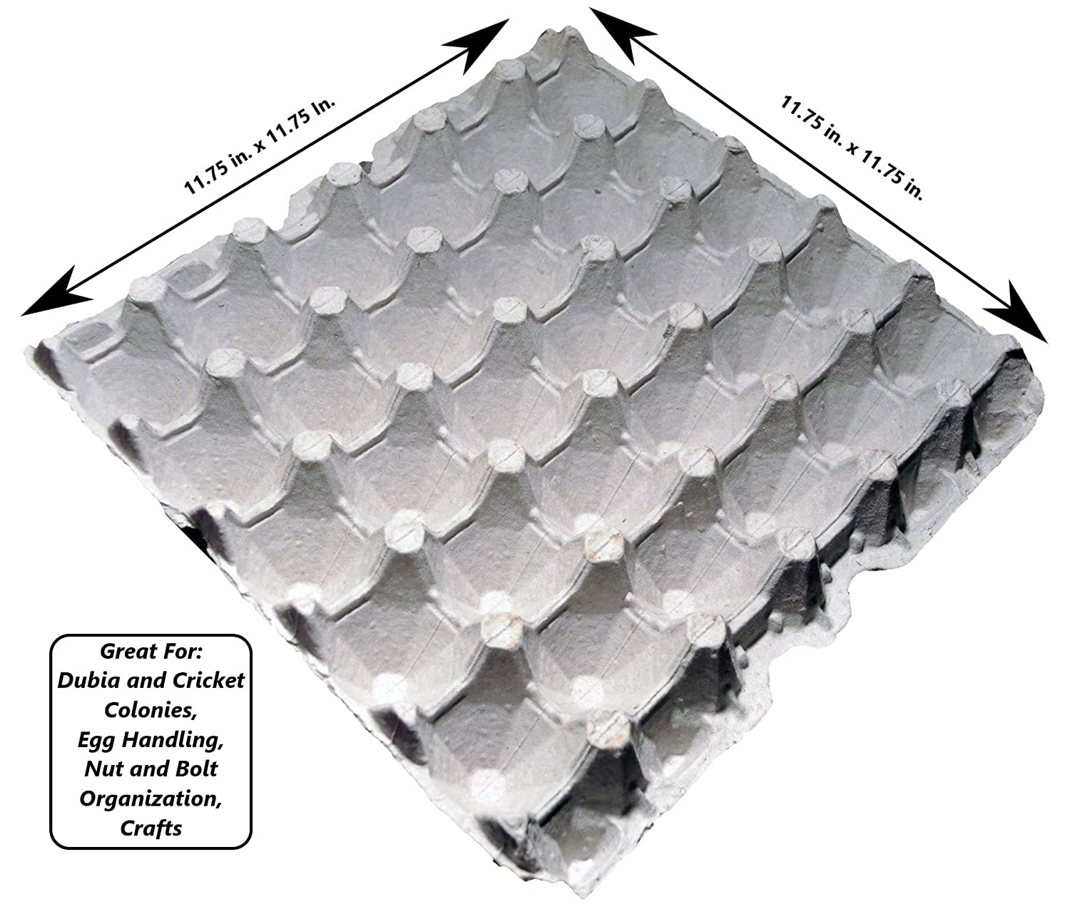 egg cartons for small and Extra Large Eggs made from recycled paper medium Pack of 12 Egg filler flats Large egg trays Holds 30 eggs each flat Cardboard Chicken Egg flats