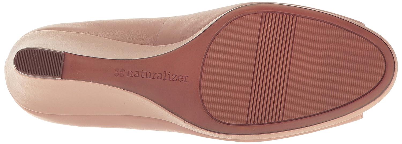 Naturalizer Women's Olivia Wedge Pump B01N914OO5 8.5 N US|Taupe