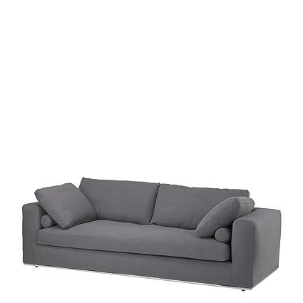Eichholtz Dark Gray Sofa Atlanta
