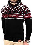 Reslad Norvegesi Maglione Pullover Maglione Invernale Felpa con Cappuccio | da Uomo per Gli Uomini di RS 3013