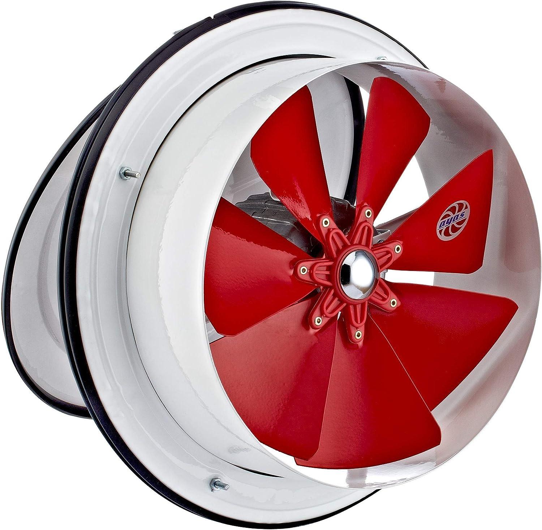 200mm Ventilador Ventilación Extractor Axial Axiales Aspiracion Mura Pared Ventana Extractores Extraccion Baño Cocina tejado Helicoidal Helicoidales