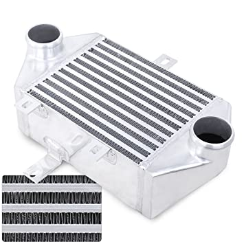 AJP Distributors Side Mount Turbo Intercooler Upgrade Replacement For Toyota MR2 SW20 3SGTE