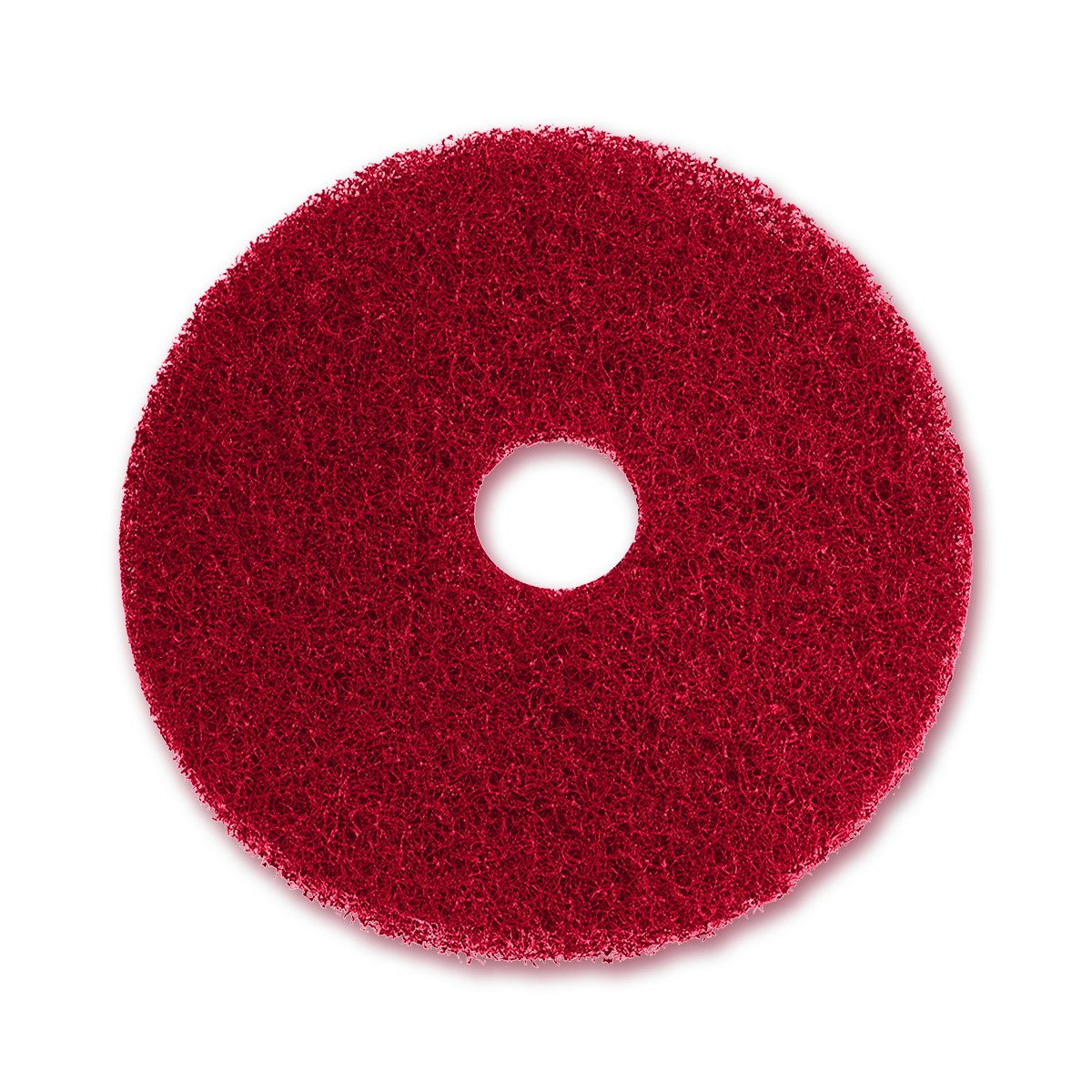 UltraSource Floor Buffing Pad, 20'', Red (Pack of 5)