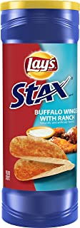product image for Lay's Stax Buffalo Wings & Ranch Flavored Potato Crisps, 5.5 Ounce