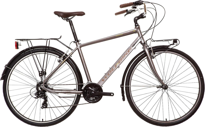 Wolfbike Trekking H700 21V C Marron T19 Bicicleta, Adultos Unisex ...