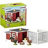 Schleich Chicken Coop Playset