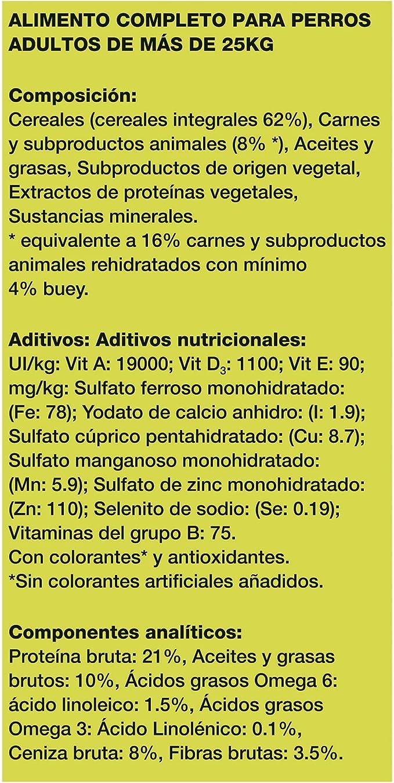 Purina Friskies Vitafit Active Pienso para Perro Maxi Buey 15 Kg