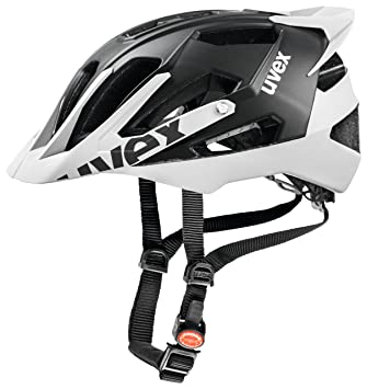 Uvex Quattro Pro - Casco de ciclismo unisex, color negro/blanco, talla 52