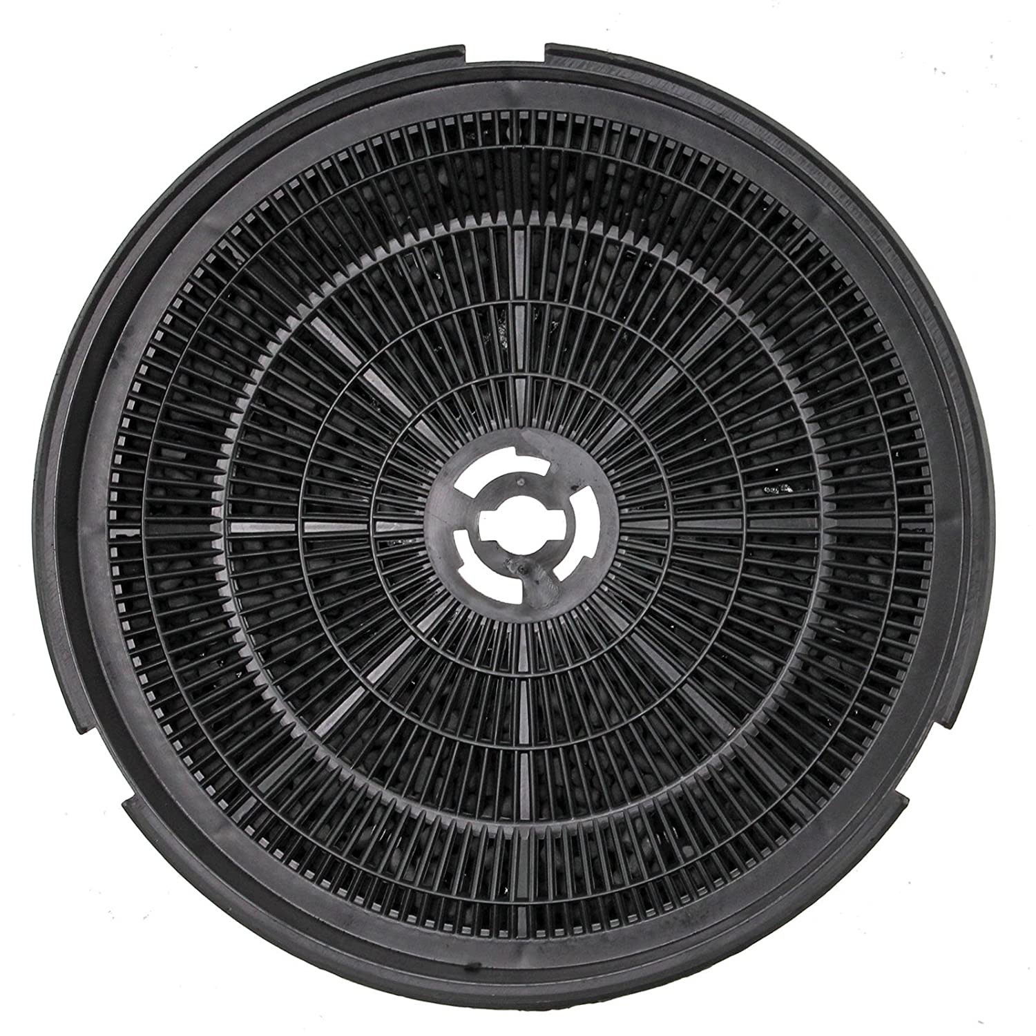 SPARES2GO Type 150 Charcoal Carbon Filter for New World CHIM110BL Cooker Hood Vent (190 x 38 mm)