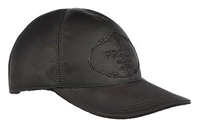 Prada adjustable men s hat baseball cap black UK size M 2H0274 H1V F0002 ffaa2a7b1ff7