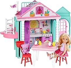 Barbie Muñeca Club Chelsea Casa de Chelsea