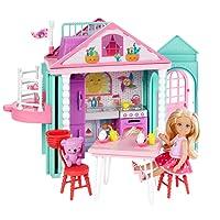 Barbie - Chelsea'nin İki Katlı Evi (Mattel DWJ50)