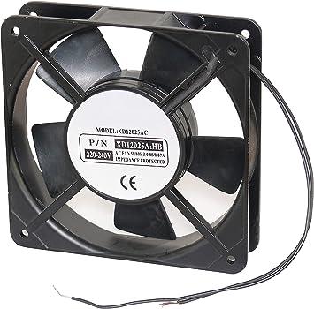 Ventilateur à roulement à billes 230 VAC 120 x 120 x 25 m