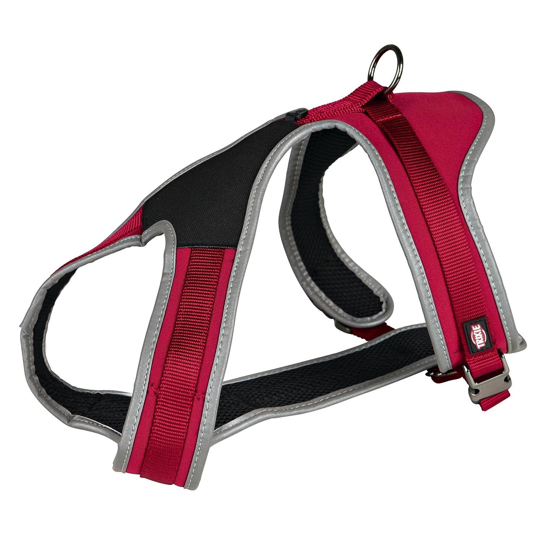Trixie 10473 Arnés Confort Experience, 45-70 cm / 20 mm, Rojo, M ...