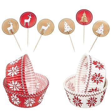 Muffin Tannenbaum.Kitchen Craft 24 Stück Fantastisch Weihnachtsbaum Tannenbaum