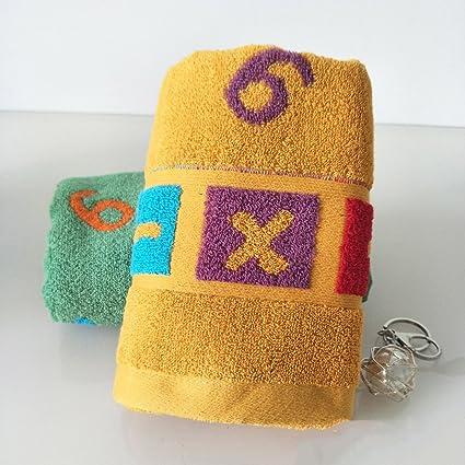 ZHFC Toalla absorbente Soft algodón amante tejido facial hilo digital toallas washcloth 34 * 75 2