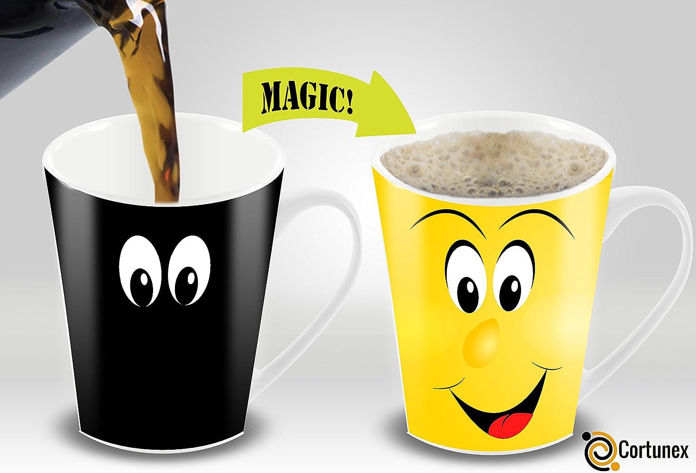 Smiley Face Coffee Mug Amazoncom Heat Sensitive Mug Color Changing Coffee Mug Funny