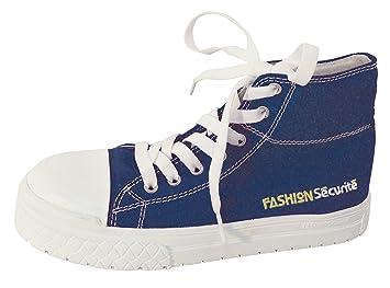 sur les images de pieds de performance fiable style unique FASHION SECURITE FS16 Chaussures de sécurité, Bleu, 37 ...