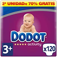 Dodot Activity Pañales Talla 3+, 120 Pañales
