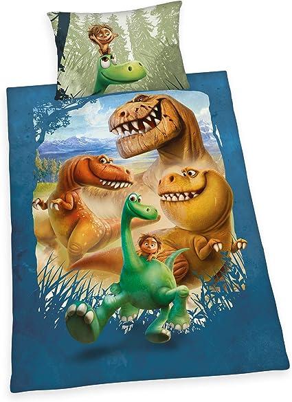 Herding Disney Arlo Spot Bed Linen Set Reversible Motif Duvet Cover 160 X 210 Cm Pillowcase 50 X 70 Cm Cotton Renforcé Amazon De Küche Haushalt