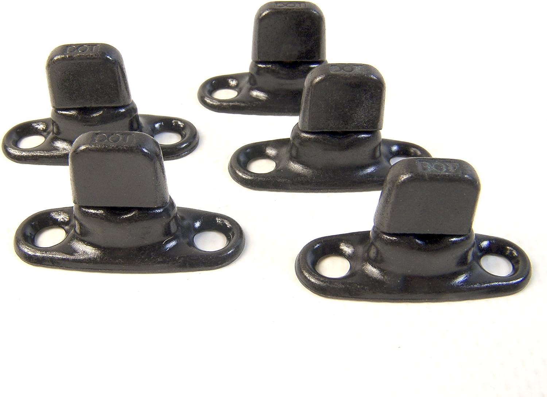 Black Oxide Finish Common Sense Fastener Set Turn Button 1 Piece Set