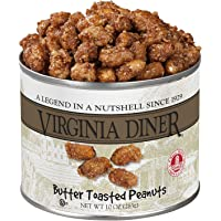 Virginia Diner Peanuts, Butter Toasted, 10-Ounce