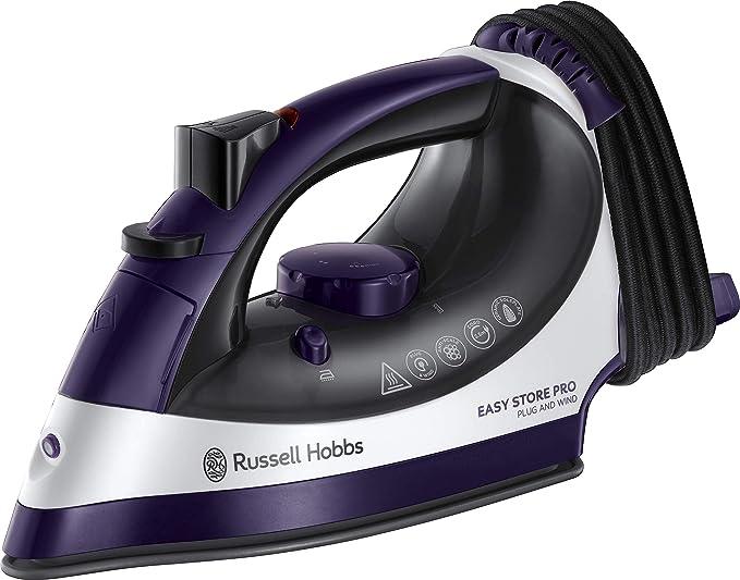 Russell Hobbs 23780 Easy Store Pro, Plug & Wind Iron, 0.330 Litre, 2400 Watt [Energy Class A]