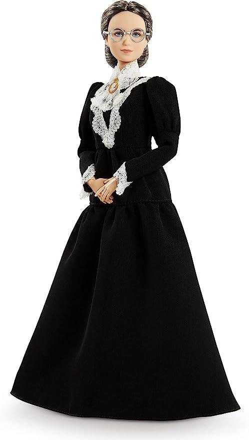 Barbie Signature Iw Susan B Anthony Muñeca para niñas de 6 años en adelante: Amazon.com.mx: Juegos y juguetes