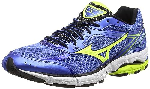 Mizunowave Connect 3 - Zapatillas de Running Hombre, Color Azul, Talla 49: Amazon.es: Zapatos y complementos