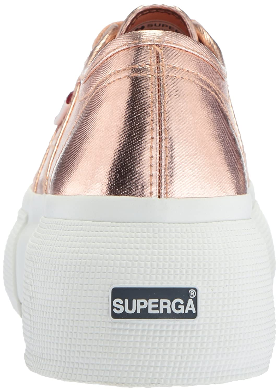 Superga B075ZYCPNN Women's 2287 Cotmetw Sneaker B075ZYCPNN Superga 41 Medium EU (9.5 US)|Rose Gold 818898