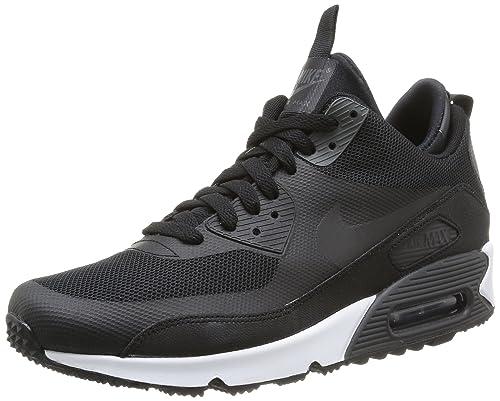 15ac9f21c37 Nike Airmax 90 Sneakerboot Mens Running Shoes 616314-002 Black 12 M US   Amazon.ca  Shoes   Handbags