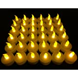 Amazon Price History for:Flameless LED Tea Light Candles, Vivii Battery-powered Unscented LED Tealight Candles, Fake Candles, Tealights (36 Pack)