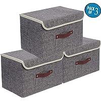 Cajas de almacenaje,Set de 3 Cajas de Almacenaje