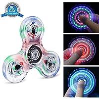 Quimat Fidget Spinner Hand Spinner LED Juguetes