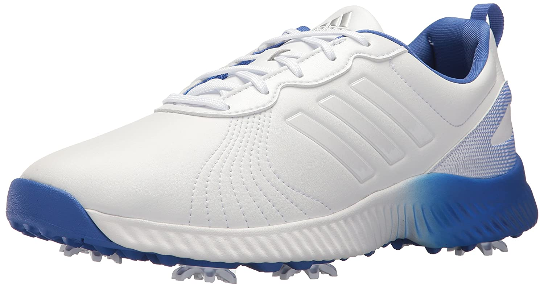 adidas Women's W Response Bounce Golf Shoe B0714LKGW3 7 B(M) US|Ftwr White/Ftwr White/Hi-res Blue