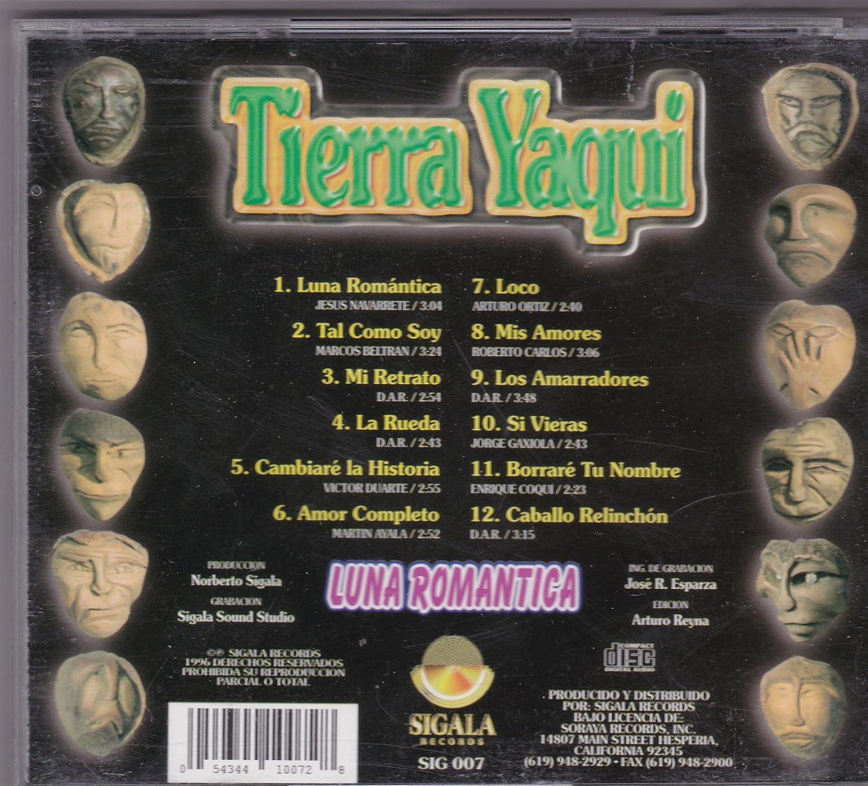 Tierra Yaqui - Luna Romantica: Tierra Yaqui - Amazon.com Music