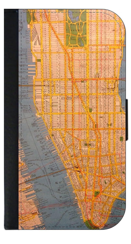 Nyc Subway Map Iphone 5 Case.Amazon Com Nyc Subway Map Wallet Style Phone Case Apple Iphone 4