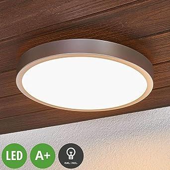 Lampenwelt Led Deckenlampe Liyan Dimmbar Spritzwassergeschutzt