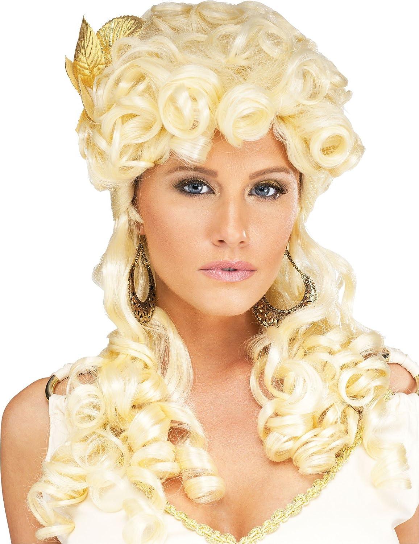 Amazon Com Aphrodite Goddess Wig Blonde Clothing