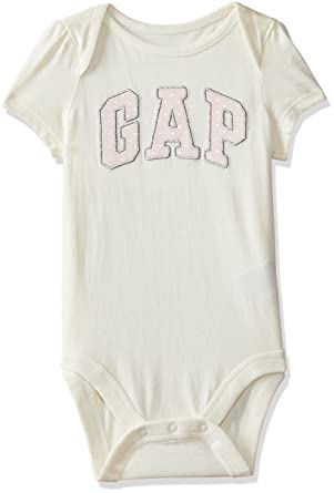 9408a09c9 GAP Baby Girls' Cotton Bodysuit: Amazon.in: Clothing & Accessories
