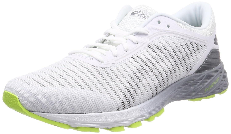 Asics Dynaflyte 2, Zapatillas de Entrenamiento para Hombre 48 EU|Blanco (White/Black/Stone Grey 0190)