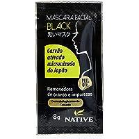 Máscara Black Sachê de 8g, Native, Preto