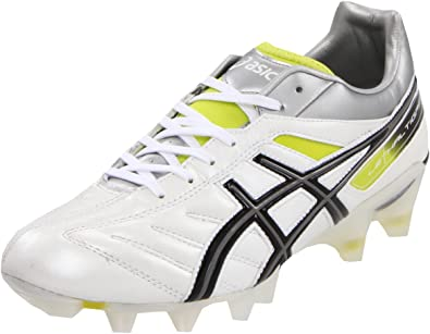 ASICS Men's Lethal Tigreor 4 IT Soccer Shoe,Pearl White/Black,8.5 M